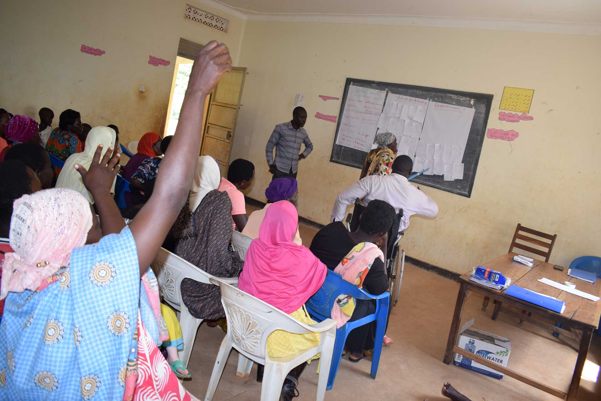 Women-with-isabilities-participating-in-Gender-and-Advocacy-Training
